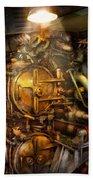 Steampunk - Naval - The Torpedo Room Beach Towel