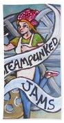 Steampunked Jams Beach Sheet