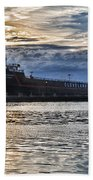 Steamship William G. Mather - 1 Beach Towel