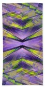 Steel Cross Beach Towel