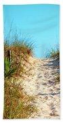 Steep Beach Path Beach Towel