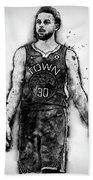 Steph Curry, Golden State Warriors - 18 Beach Towel