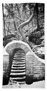 Steps Along The Wissahickon Beach Towel