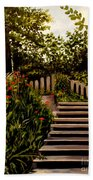 Steps Of Monte Rio Beach Towel