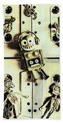 Stereo Robotics Art Beach Sheet