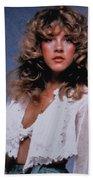 Stevie Nicks In Curls Beach Towel