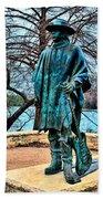 Stevie Ray Vaughan Vibrant Colors Beach Towel