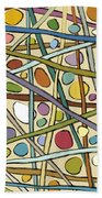 Sticks And Stones Beach Towel