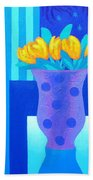 Still Life At Window IIi Beach Towel