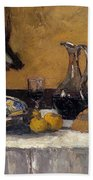 Still Life Nature Morte Beach Towel