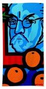 Still Life With Henri Matisse Beach Towel