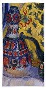 Still Life With Oriental Figures, 1913  Beach Towel