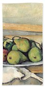 Still Life With Pears Beach Towel
