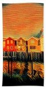 Stilts Beach Towel
