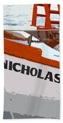 St.nicholas Three Beach Towel