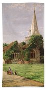 Stoke Poges Church Beach Towel
