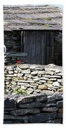 Stone Barn Doolin Ireland Beach Towel