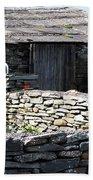Stone Barn Doolin Ireland Beach Towel