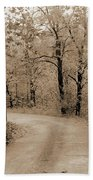 Stone Bridge On Cave Hill Road Beach Towel