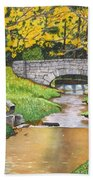 Stone Bridge Beach Towel