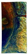 Stone Stare Beach Towel