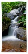 Stone Mountain Falls Beach Towel