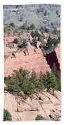 Stone Quarry In Red Rock Canyon Open Space Park Beach Towel
