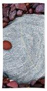 Stone Simplicity Beach Towel