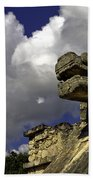 Stone Sky And Clouds Beach Towel