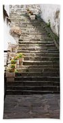 Stone Stairs Beach Towel