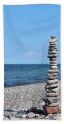 Stone Towers Beach Towel
