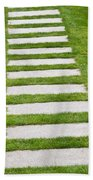Stone Walkway Beach Towel