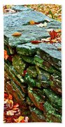 Stone Wall Beach Towel