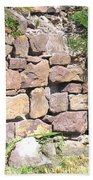 Stone Wall Beach Towel