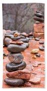 Stones In Balance Beach Towel
