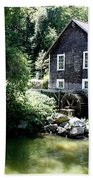 Stony Brook Gristmill And Museum Beach Towel
