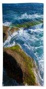 Stony Shore In Costa Adeje Beach Towel