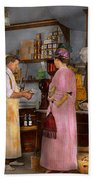 Store - In A General Store 1917 Beach Towel