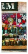 Store - Westfield Nj - The Flower Stand Beach Towel