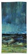 Storm At Sea II Beach Towel