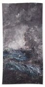 Storm In The Skerries. The Flying Dutchman Beach Towel