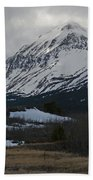 Storm On The Rocky Mountain Front Beach Towel