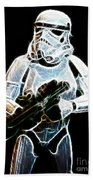 Storm Trooper Beach Towel