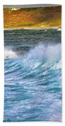 Storm Wave Beach Sheet