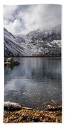 Stormy Convict Lake Beach Towel