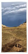 Stormy Day At Mitchell Pass Beach Towel