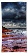 Stormy Day Beach Towel