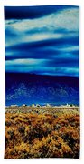 Stormy Day In Taos Beach Towel