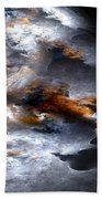 Stormy Seas Beach Towel
