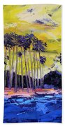 Stormy Shores Beach Towel